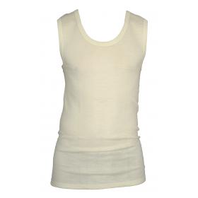 Hemd, merinowol/zijde, naturel (maat 5-7)