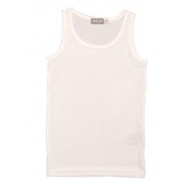 Hemd, biologische zijde, wit (104-164)