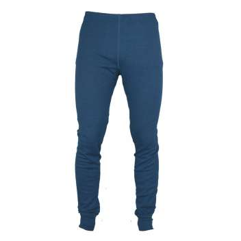 Legging, wool/silk, dark blue (XS-XL)