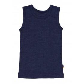 Hemd, wol/zijde, marine (90-150)