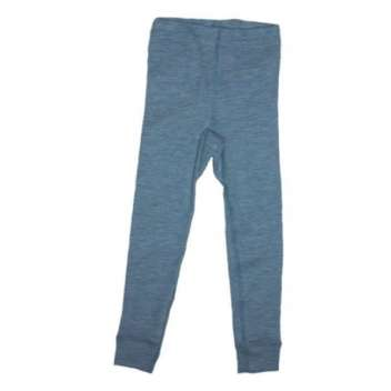 Children's legging, wool/silk, jeans-blue (92-152)