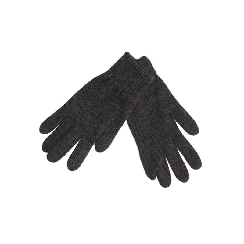 Gloves, wool, anthracite (8)