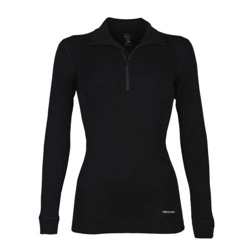 Sport shirt, wool, black (36-46)