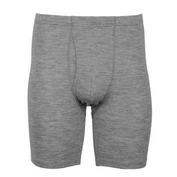 Men's boxer short, wool, grey (4-8)
