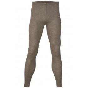 Legging, merinowol/zijde, walnoot (46-56)
