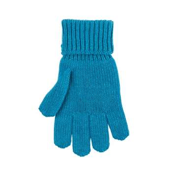 Gloves, wool, petrol (5-6))