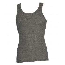 Hemd, merinowol/zijde/katoen, grijs (S-XL)