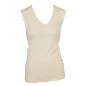Hemd, wol met v-hals (36-46)