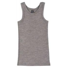 Hemd, wol, grijs (98-152)