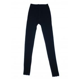 Legging, wol, zwart (XS-2XL)
