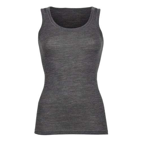 Undershirt, wool, grey (36-46)