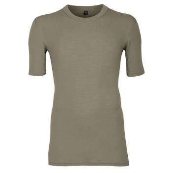 Shirt short sleeved, wool, olive (5-8)