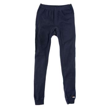 Legging, wool, navy (150-170)