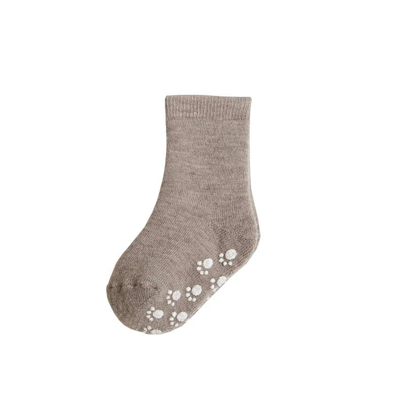 Socks with anti slip, wool, sand (15-30)