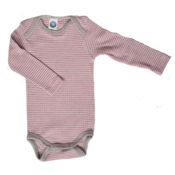 Body long sleeved, wool/silk/cotton, colourful (92-152)