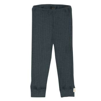 Legging, wool, petrol (62-86)