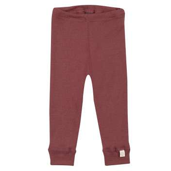 Legging, wool, rust (62-92)