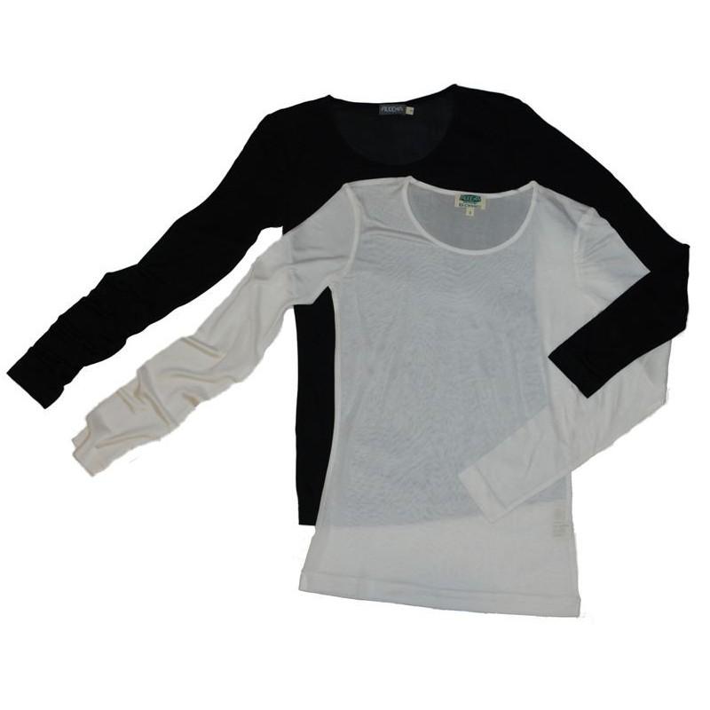 zijden t shirt
