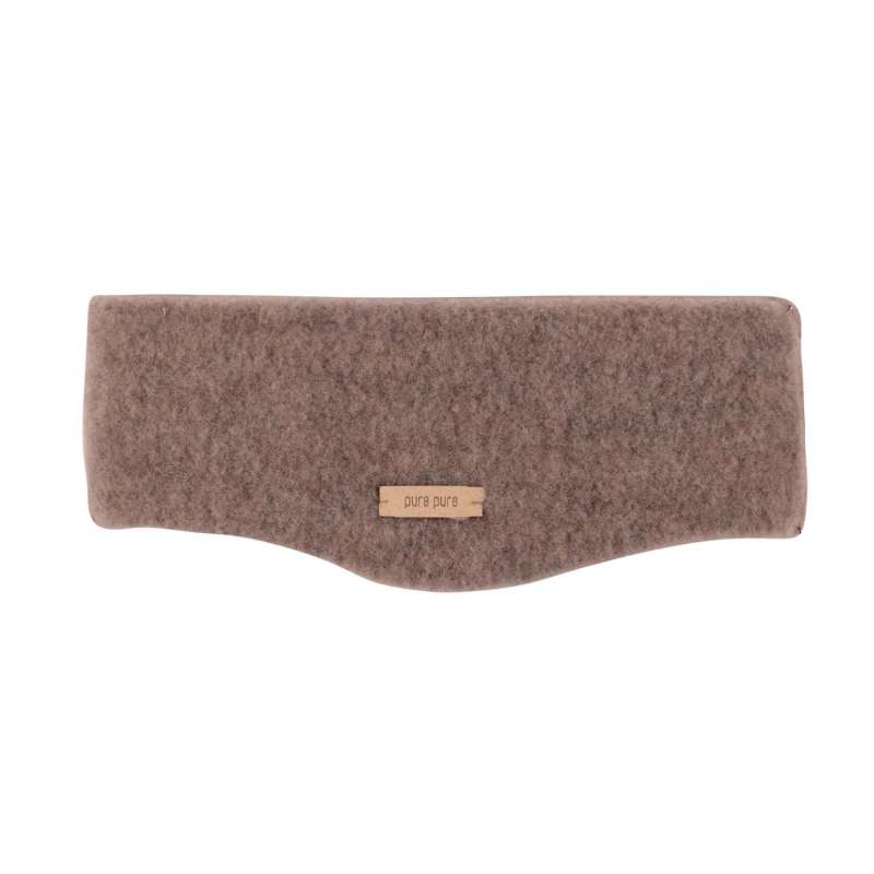 Headband, wool fleece, hazel (53-57 cm)