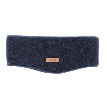 Headband, wool fleece, blue (53-57 cm)