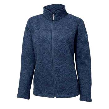 Cardigan, wool, navy (36-44)