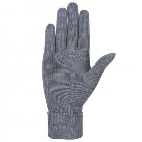 Handschoenen, wol, grijs (7-7,5)