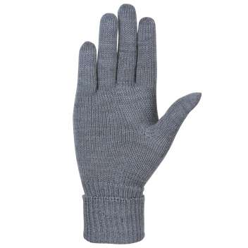 Gloves, wool, grey (7-7,5)