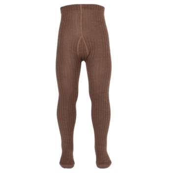 Tights , wool, brown (80-146)