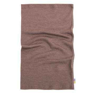 Neckwarmer, wool/silk, canyon rose (1-14 years)
