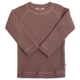 Sweater, merino wool, canyon rose (60-130)
