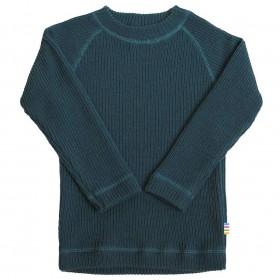 Sweater, merino wool, corsair blue (60-130)