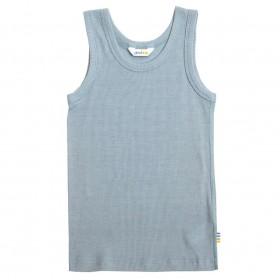 Hemd, wol/zijde, bergbron blauw (90-150)