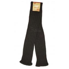 Leg warmers, wool, black
