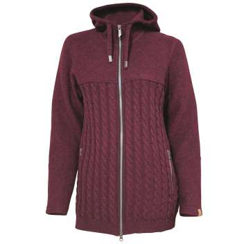 Cardigan, wool, port wine (36-44)