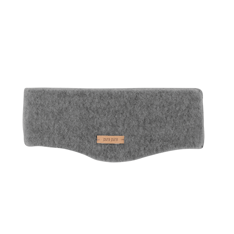 Headband, wool fleece, slate (55-57 cm)