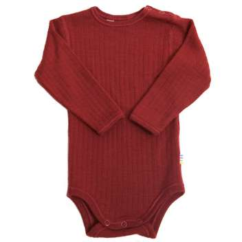 Body long sleeved, wool, red (60-90)