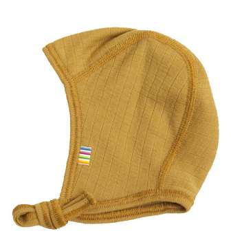 Cap, wool, curry (37-48 cm)