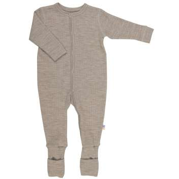 Jumpsuit, wool, sesame (50-100)