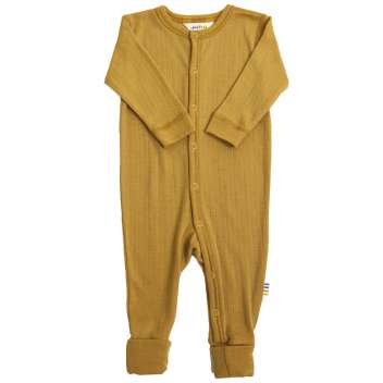 Jumpsuit, wool, golden yellow (60-90)