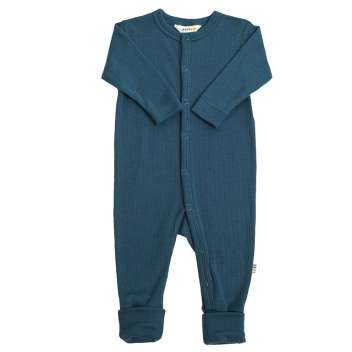 Jumpsuit, wool, moroccan blue (60-90)