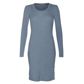 Shirt long sleeved, wool, blue heaven (36-46)