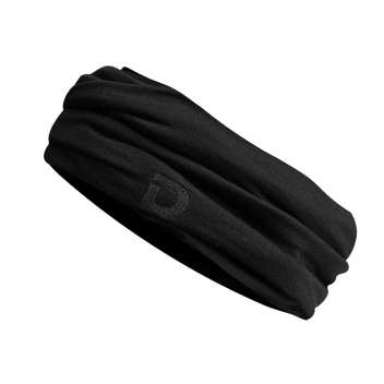 Neckwarmer, wool, black (one size)