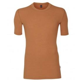 Shirt short sleeved, wool, caramel (4-8)