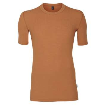 Shirt short sleeved, wool, caramel (4-8)