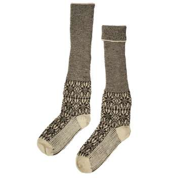 Stockings, wool, Norwey brown (38-43)