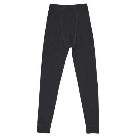 Legging, merinowol, zwart (XS-XXL)