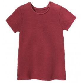 Summer jumper, wool, dry rose (62-104)
