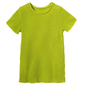 Summer jumper, wool,granny smith (62-104)
