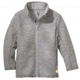 Vest, merinowol, pebble grey (98-128)