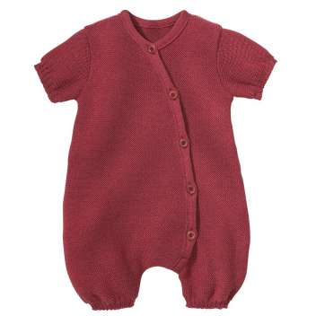 Summer play suit, wool, dry rose (50-68)